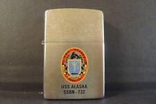 Zippo Lighter USS Alaska SSBN 732
