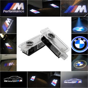 Car Door Entry Light Cree LED Projector Puddle Courtesy LOGO Lamp For BMW X SUV