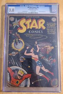 All Star Comics 45 CGC 3.0 Possible Irwin Hasen Signature