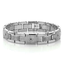 MEN'S NEW DIAMOND BRACELET - SHINY & MATTE FINISH  TUNGSTEN CARBIDE