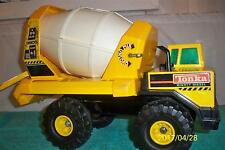 "Tonka 1990's Good Mighty Diesel # 3905 Good Working Cement Mixer Truck  20"" Long"