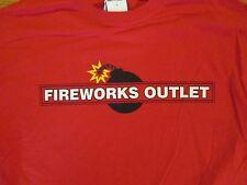 Fireworks Outlet  T Shirt Size M