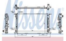 NISSENS Radiador, refrigeración del motor AUDI A4 A6 A5 A7 60317