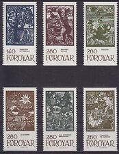 Faroe Is. 1984 Fairy Tales Set of Singles UM SG103-8 Cat £33.00