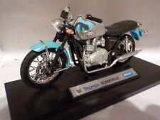 2002 TRIUMPH BONNEVILLE T100 1/18 scale model by WELLY