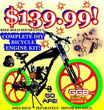 """66cc/80cc 2-STROKE motorized bike KIT FOR 26"""" And 29"""" Bicycles HIGH POWER"""