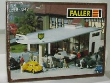 Faller HO scale 347 BP Fueling Station Kit