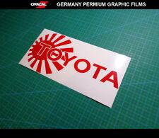JDM Logo TOYOTA Supra Celica TRD Land Cruiser klugar Pardo 86 car vinyl decal