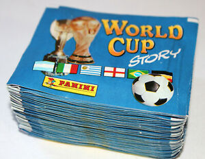Panini World Cup Story 90 1990 - 50 TÜTEN PACKETS BUSTINE SOBRES POCHETTES