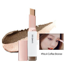 LANEIGE TWO TONE EYE SHADOW BAR #4 Coffee Bronze Shimmer Matte cosmetic  new