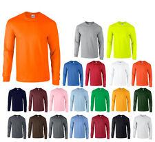 Herren Langarm T-Shirt 2er Long Sleeve Shirt Ultra Cotton Gildan