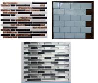 3D Mosaic self adhesive tile sticker Marble effect Mosaic sticker Peel & stick