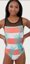 Plum Practicewear NWT AXL Bahama Mama Mesh Leotard