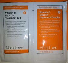 15 -PACK MURAD VITAMIN C INFUSION TREATMENT MASK GEL+ POWDER NO BOX