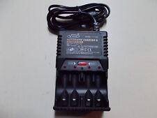 Vanson Model V-1268, Automatic Battery Charger, for 4 Batteries, #K-40-12