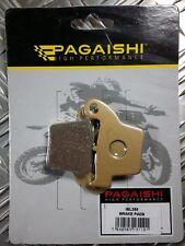 Pagaishi pastillas freno trasero para hm moto crm f 450 x 2009