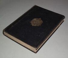 Orig. 1880: Arzneibuch für das Deutsche Reich 3. Ausgabe Pharmacopoea Germanica
