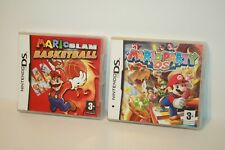 MARIO PARTY DS + MARIO SLAM BASKETBALL _ NINTENDO DS _ 3DS _ 2DS _  2 GAMES