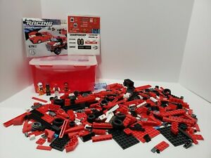 BricTek Car Racing Super Bundle Pack 21532 pre owned NOT COUNTED with container