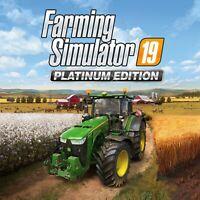 Farming Simulator 19 Platinum Edition Steam Key  (PC/MAC) - Region Free -