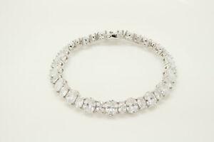 "5 Ct Diamond Tennis Ladies Bracelet 7"" S-Link Diamonds 14K White Gold Finish"