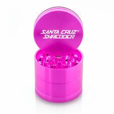 "Medium 2.2"" Pink 4 Piece SANTA CRUZ SHREDDER Grinder + Free Shipping"