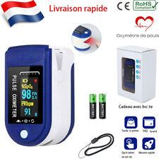 Oxymètre de pouls digital saturomètre pulsomètre mesure doigt PR SpO2 Moniteur