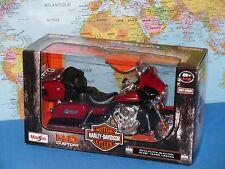 2013 Harley Davidson FLHTK Electra Glide Ultra Maisto 32323 Rot 112 Die CAS
