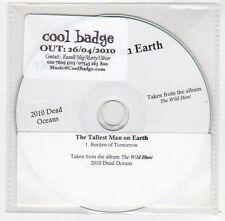 (FC119) The Tallest Man On Earth, Burden Of Tomorrow - 2010 DJ CD