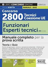 5380200 2082912 Libri Concorso 2800 Tecnici Coesione UE..- Funzionari Esperti Te