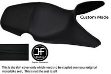 BLACK AUTOMOTIVE VINYL CUSTOM 01-07 FITS BMW F 650 GS DUAL SEAT COVER ONLY