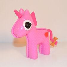 """2011 Hazelnut Pink Unicorn Pet 3.5"""" Action Figure Lalaloopsy Lady Stillwaiting"""