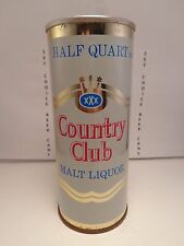 COUNTRY CLUB MALT LIQUOR 16oz STRAIGHT STEEL PULL TAB BEER CAN #148-15-C
