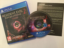 PLAYSTATION 4 PS4 GAME  RESIDENT EVIL 2 REVELATIONS PAL GWO DISC IS IN VGC
