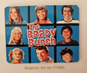 VINTAGE 'The Brady Bunch' TV SHOW / SERIES FRIDGE MAGNET - M501