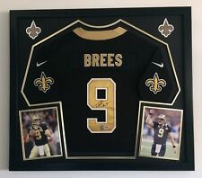 Drew Brees Autographed Signed New Orleans Saints Framed Jersey PSA Nike NFL