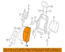 AUDI OEM 15-16 A3 Front Seat-Back Cushion Foam Pad Left 8V4881775B