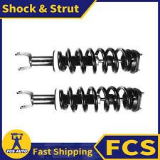 2X FRONT FCS Shock Strut and Coil Spring Assembly Set Fits 09-15 DODGE RAM 1500