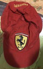 Vintage Red Ferrari Hat - BABY SIZE - RARE