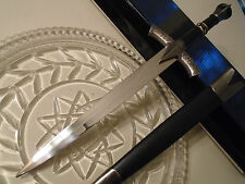 Game Of Thrones 'Winter Is Coming' Dagger Sword Unsharpened w Scabbord 14.5 inch