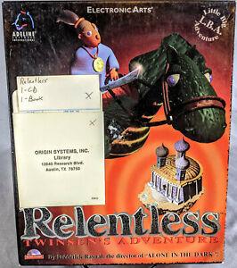 Relentless Twinsen's Adventure PC CD Origin Library - Signed Richard Garriott ++