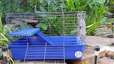 Large Pet Cage ~ Ferret Guinea Pig ~ Extras H20 Bottle, Dish, Litter, Ramp +