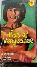 Fists of Vengeance: Facing All Death Vol. 13 VHS- Jacky Chen, Hai Kai, Lee Kuen