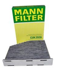 Original MANN Innenraumfilter mit Aktivkohle CUK2939 für Audi Seat Skoda VW