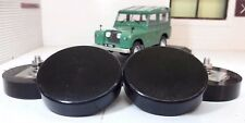 Land Rover Series 2 2a 3 Bonnet Spare Wheel Buffers & Stainless Nuts MRC5627 Set