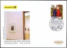 BRD 2014: Rogier-van-der-Weyden-Gemälde Post-FDC Nr. 3119 mit Berliner Stempel!