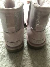 Ugg boots  pink with sparkle size Uk 5 EU 38 worn once