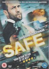 SAFE - Jason Statham, Catherine Chan, James Hong. Directed Boaz Yakin (DVD 2012)