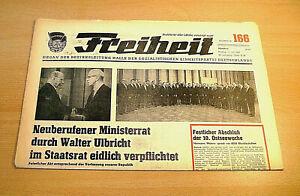 DDR Freiheit November 1972 Geburtstag Hochzeit 45 46 48 SED Halle 49 47 50