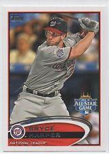 2012 Topps Update Baseball #US299 Bryce Harper WASHINGTON NATIONALS Rookie Card